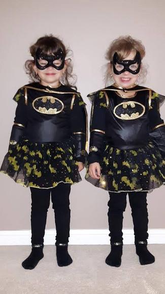 Twin Batgirls Wins Over Safari Dental Team!