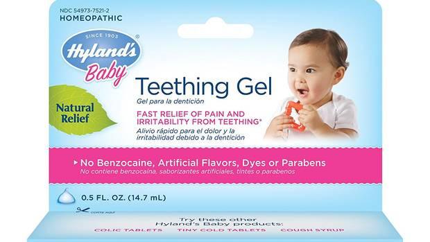 Milton pediatric dentist teething gel