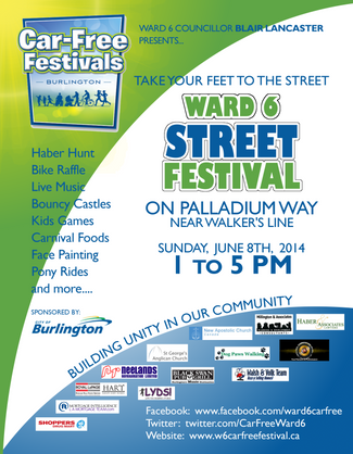Burlington Car Free Festival