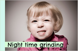 Oakville, Burlington, Milton children's dentist talking about grinding baby teeth.