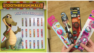 Toothbrush wall updates!