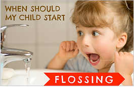 Milton and Burlington Children's Dentist emphasizes the importance of flossing your child's teeth.