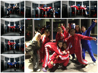 iFLY Christmas Party at Safari Dental