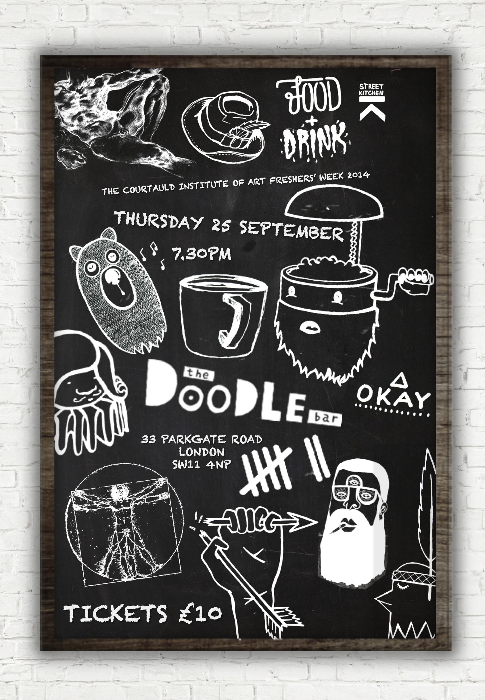 4 Thursday 1 Doodle Bar