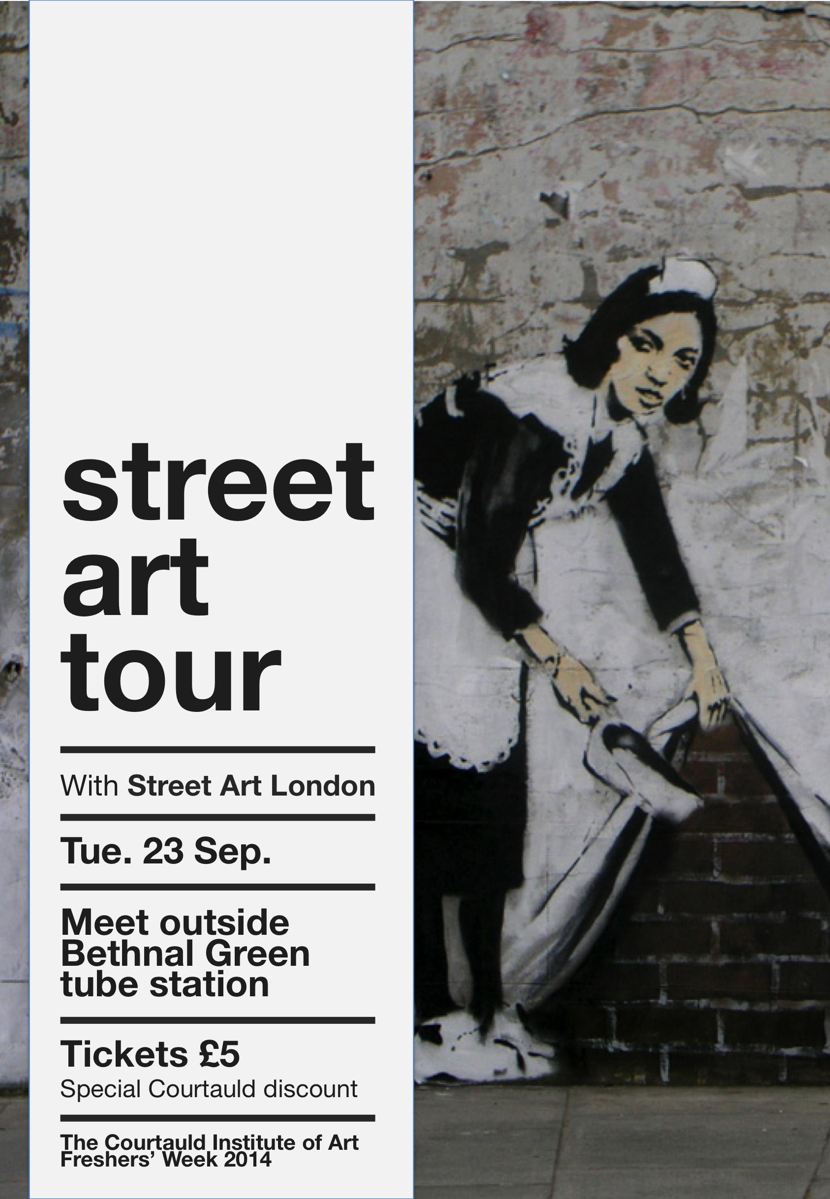 2 Tuesday 1 Street Art Tour