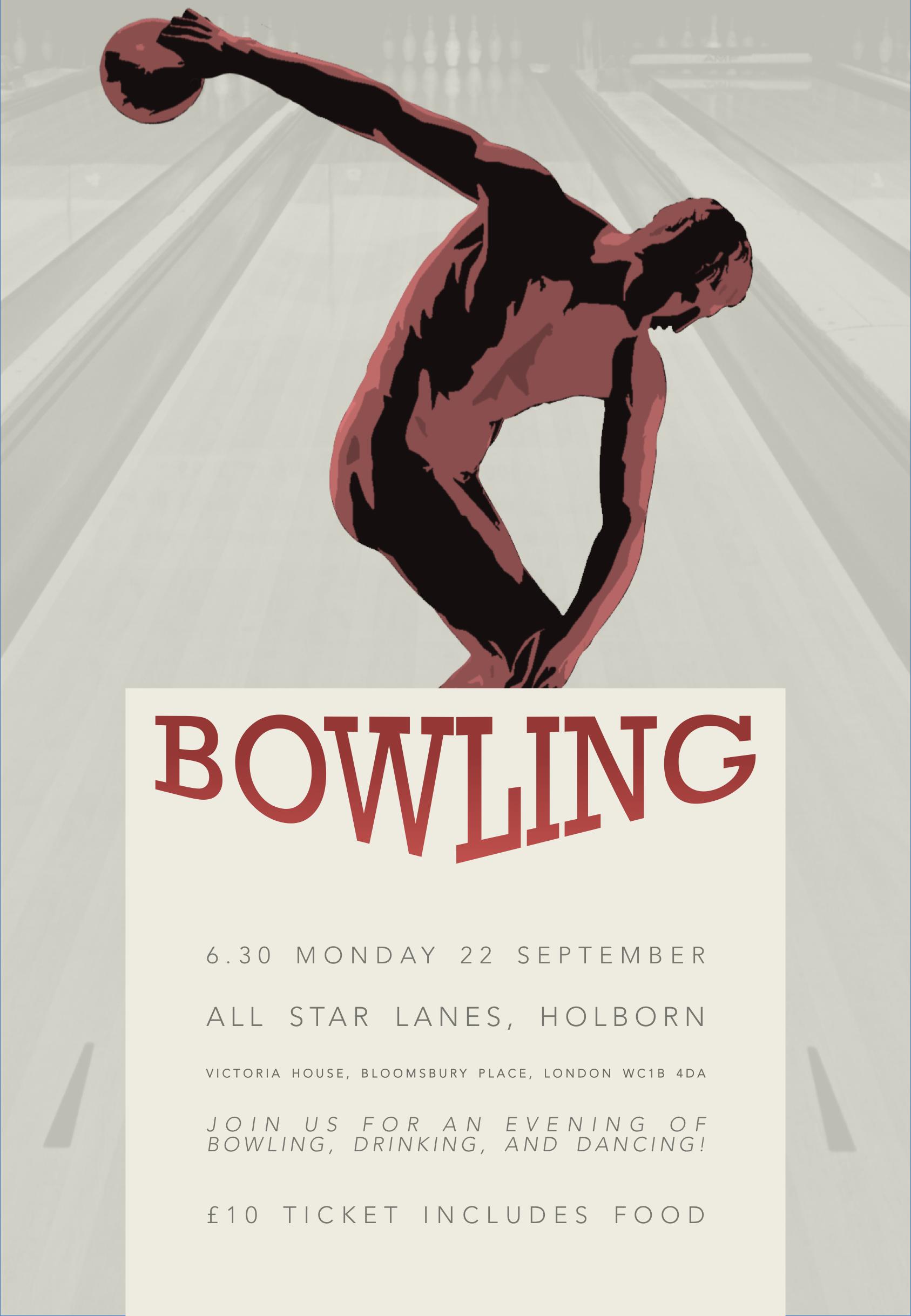 1 Monday 4 Bowling