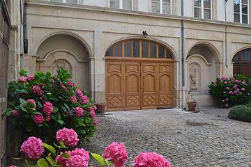 Porte cochère type XVIIIe siècle
