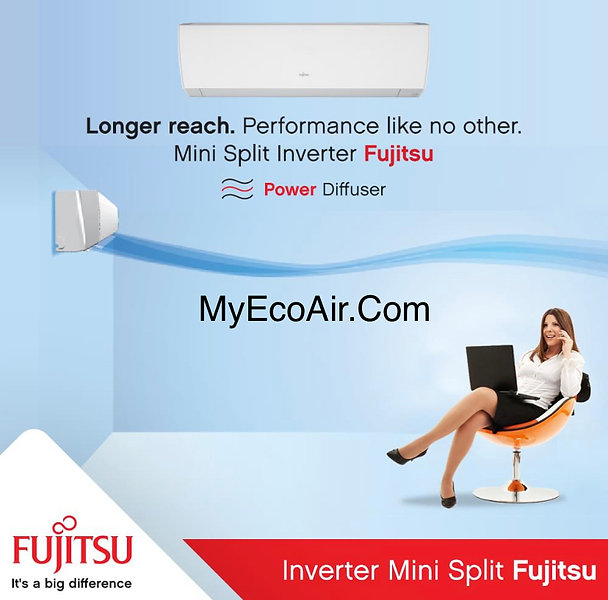 Fujitsu Mini-Split Eco Air Solutions