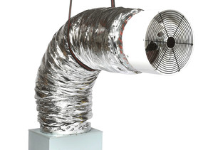 QA-Deluxe 3300 Whole House Fan