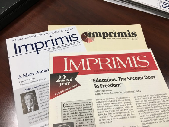 Read Imprimis for Thoughtful Analyses of Current Issues