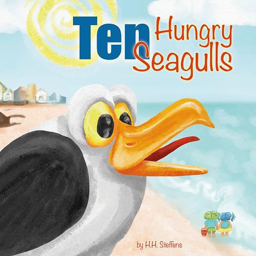 Ten Hungry Seagulls