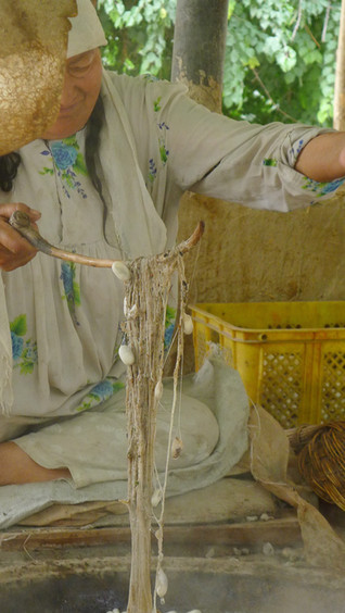 Silk, Kashgar, 2010