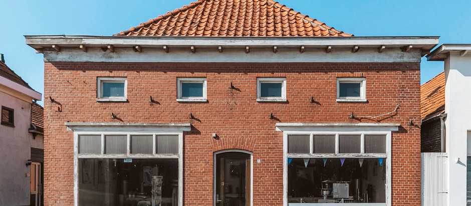 Storefront/Residential on Canal in Netherlands for $80k