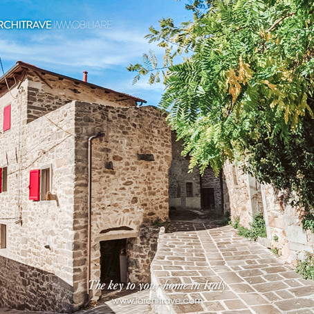 Stone house in the hills of Tuscany for $166k USD
