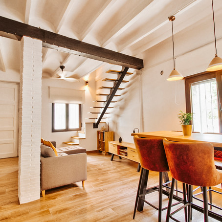 Stylish Spanish town home for $161k