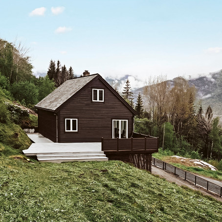 Nordic Dream Home Overlooking Fjord