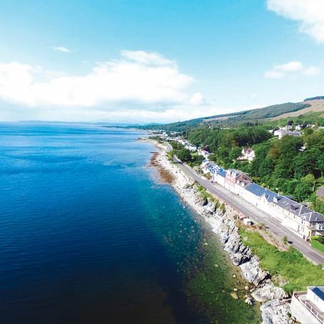 Waterfront Flat in Innellan Scotland