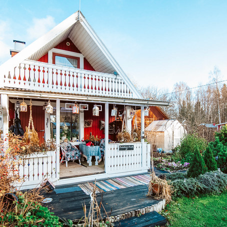 Finnish Tiny House with Sauna for $41k