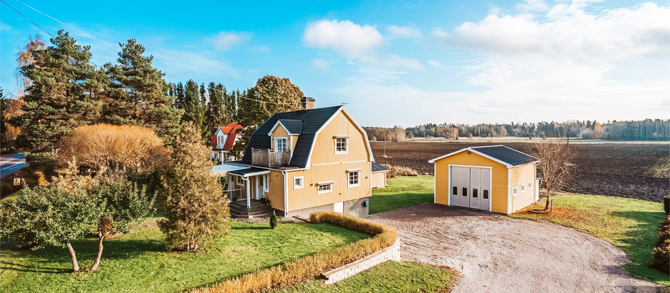 Swedish Farmhouse for $149k