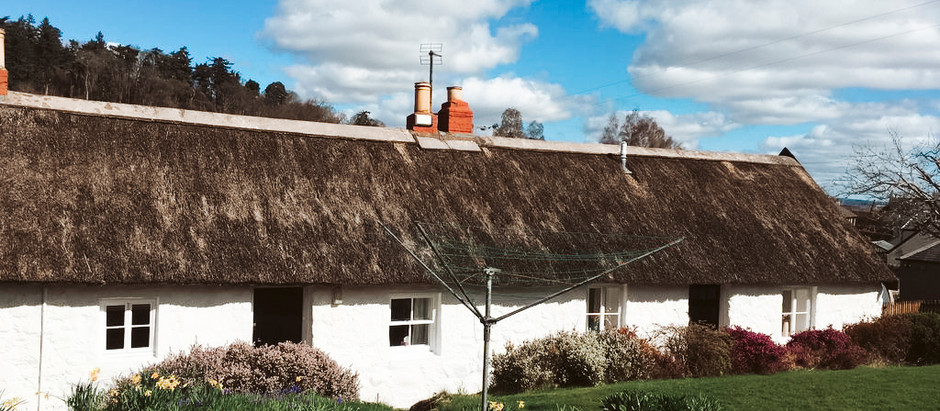 Thatched Cottage in Scotland for $800/mo