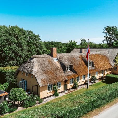 Thatched Cottage on 1 Acre with Huge Barn/Workshop for $133k