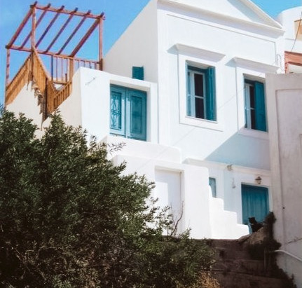 """""""The Blue House"""" in Choria, Greece"""