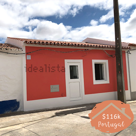 Adorable village house in Portugal for $116k