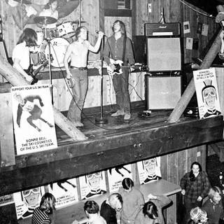 Band playing at Mangy Moose in the 1960s