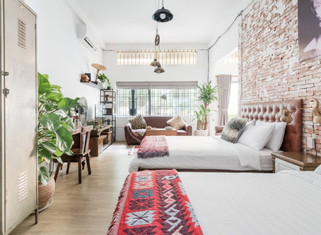 Vintage Styled Flat in Vietnam for $28/nt