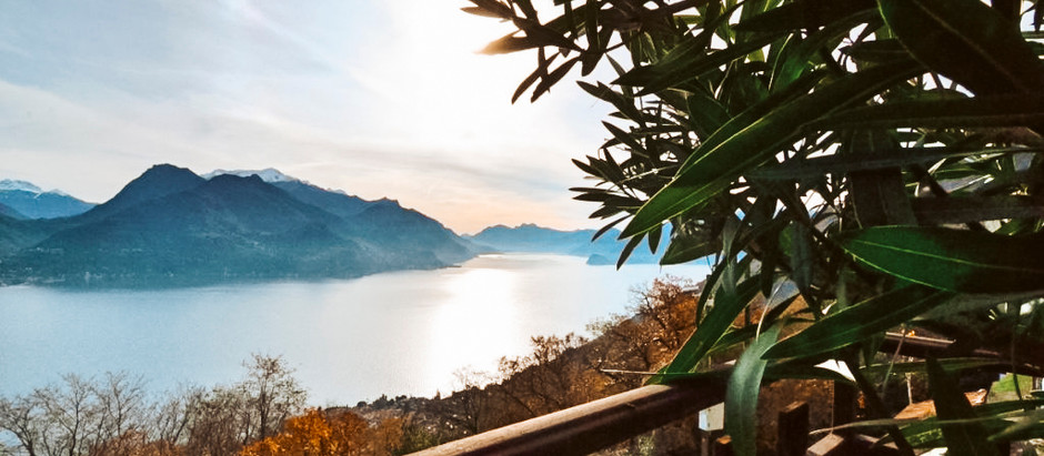 Village house overlooking Lake Como for $121k