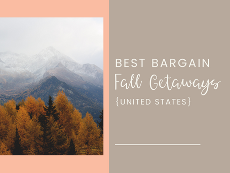 Top Bargain Stays for a Fall Getaway