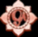 Mandala_rose gold initials.png