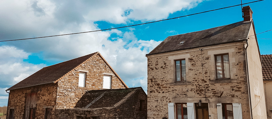 House with barn in France for $83k