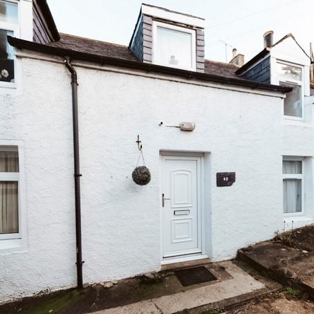Cottage in Scottish Seaside Village for $131k