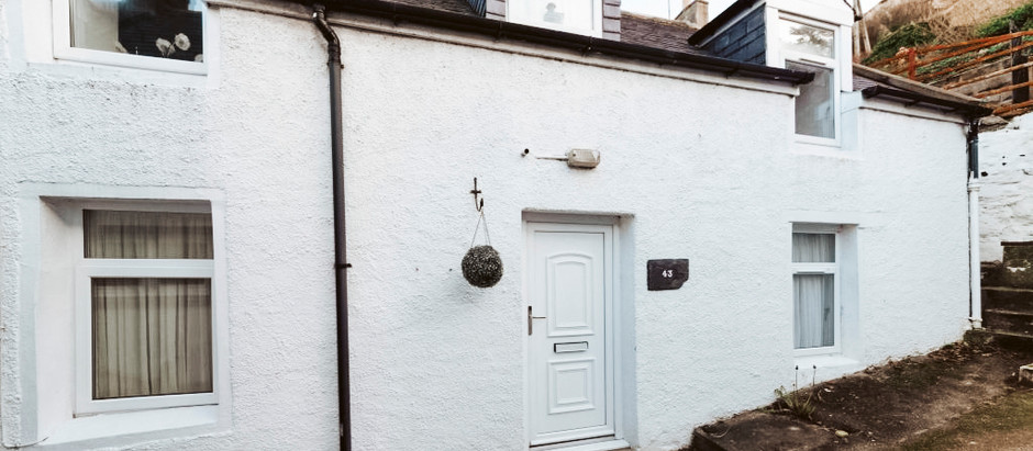 Cottage in Scottish Seaside Village for $131k