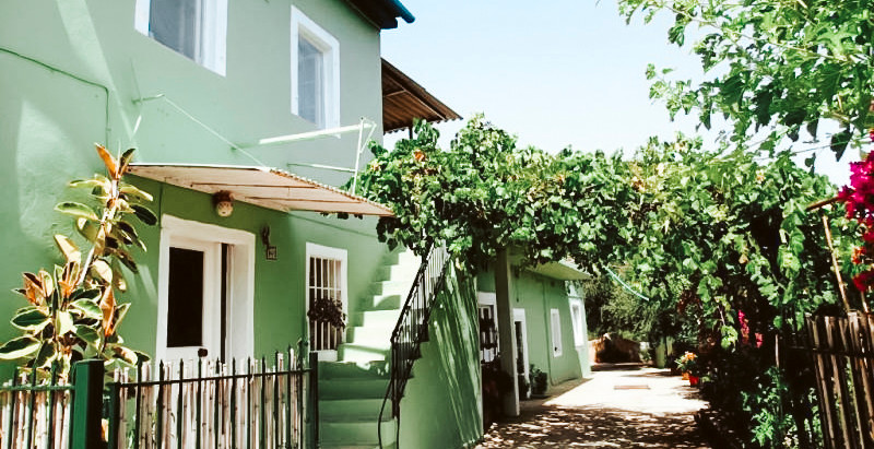Greek Compound with 3 Homes and Pool for $199k