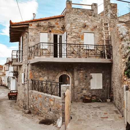 Renovated Stone House in Greek Mountain Village for $100k