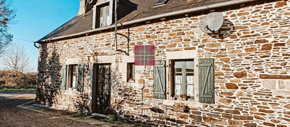 Pretty stone house in Brittany for $167k