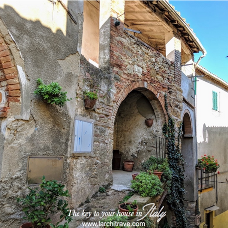 Perfect Tuscan village home for €100k