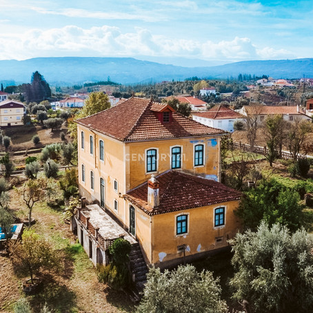 Portuguese Estate with Acreage for $297k