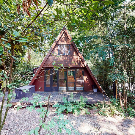 Recreational A-Frame in Belgian Forest