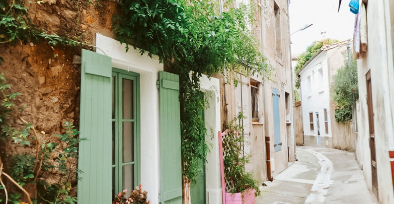 Enchanting French village house with courtyard for $180k