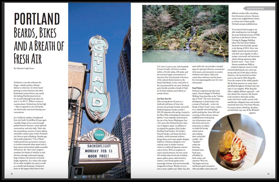 Portland Article - LA Travel Magazine