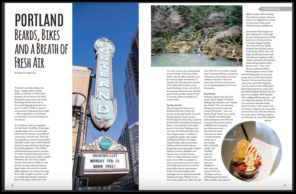 Portland Article - LA Travel Magazine