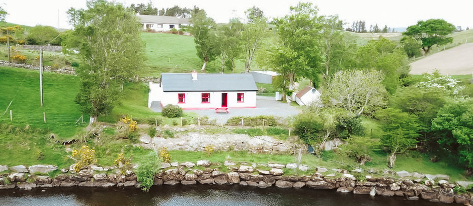 Irish Cottage on River for $142k