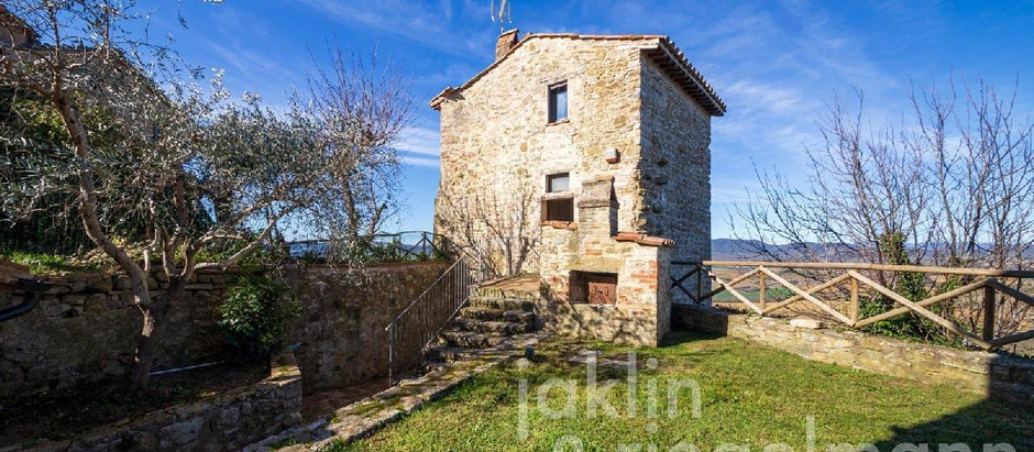 Renovated medieval Italian tower for $155k