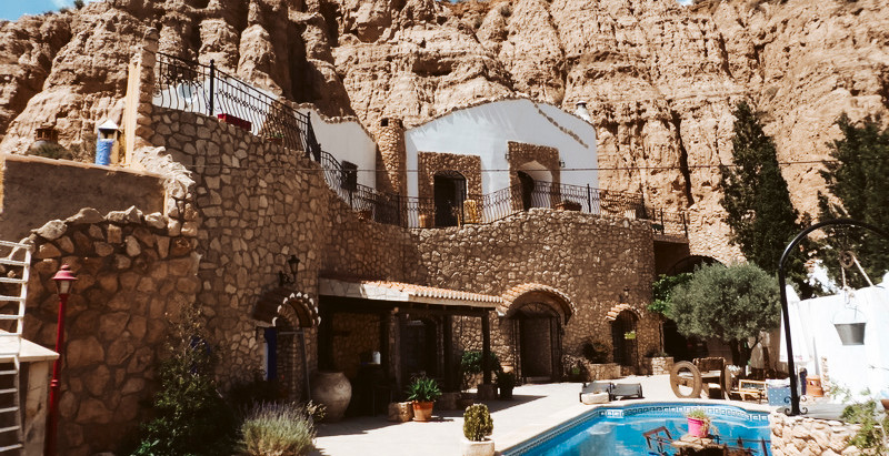 Exquisite Spanish Cave House for $643k