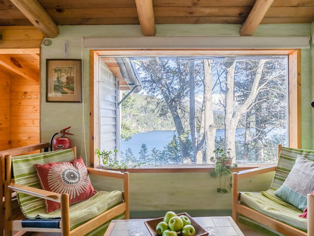 Sweeping views of Patagonia from this chalet for $40/nt