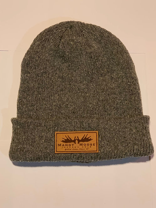 Grey Speckled Soft Knit