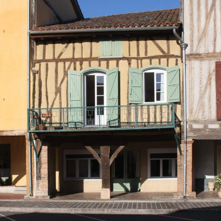 Charming French village house with commercial space for $153k